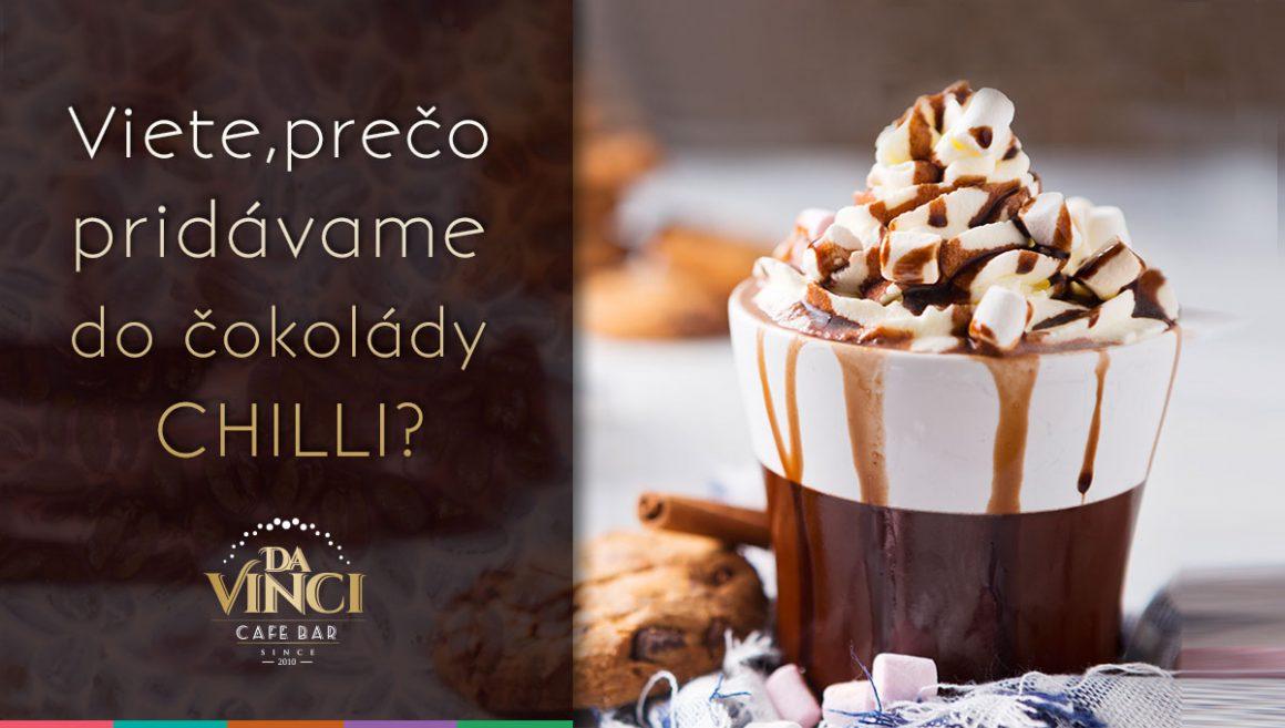Chilli a mandle v horúcej čokoláde? Zistite, prečo ich do nej pridávame!